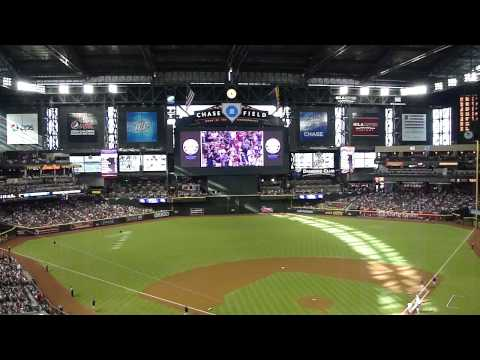 Diamondbacks vs. Padres (9/10/11; 2001 World Series Championship Reunion Game: Video 2 of 6)