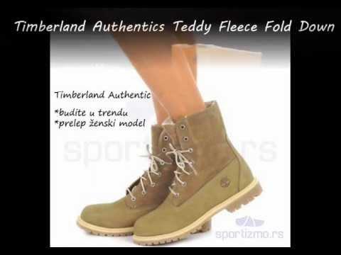 finest selection aa845 e3a1d Timberland Autentic Teddy Fleece Fold Down