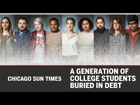 A Generation Of College Students Buried In Debt