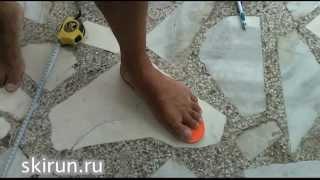 Как определить размер кроссовок?