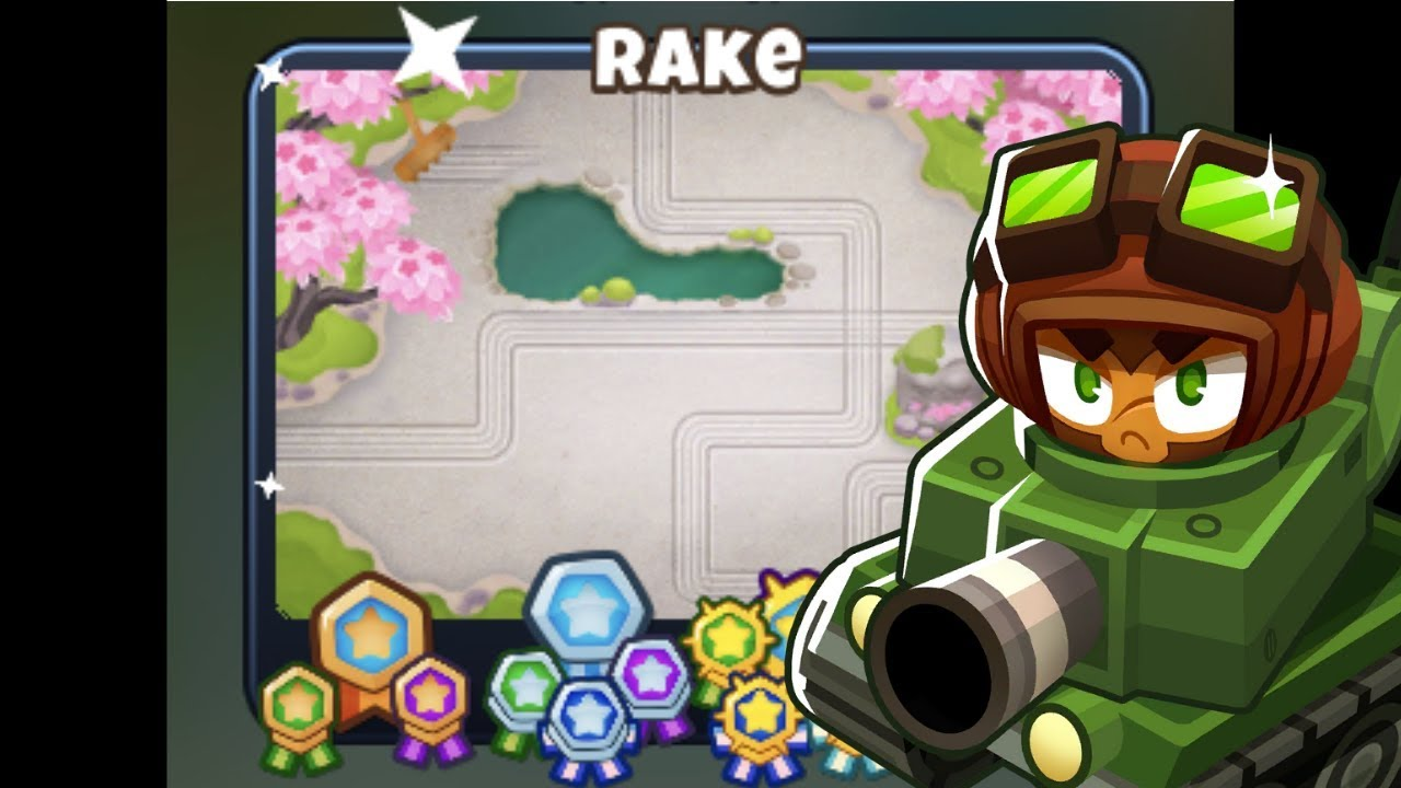 Repeat BTD6 - Rake CHIMPS Black Border - (Outdated) by Rohan