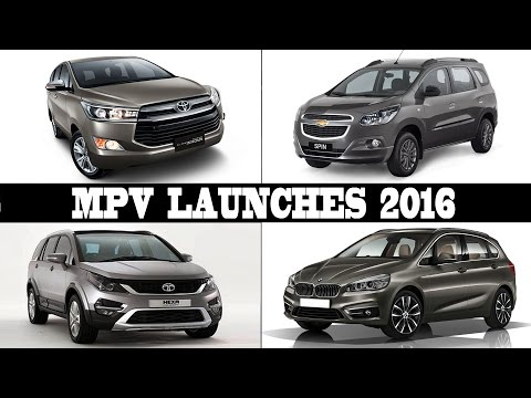 Upcoming New MPV Launches in 2016