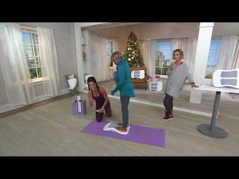 Stretch Refle Air Stretching And Core Trainer On Qvc Doovi
