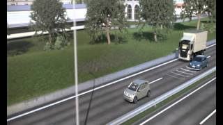 Volkswagen Golf   Technik, Assistenz  und Komfortsysteme   Animation Front Assist