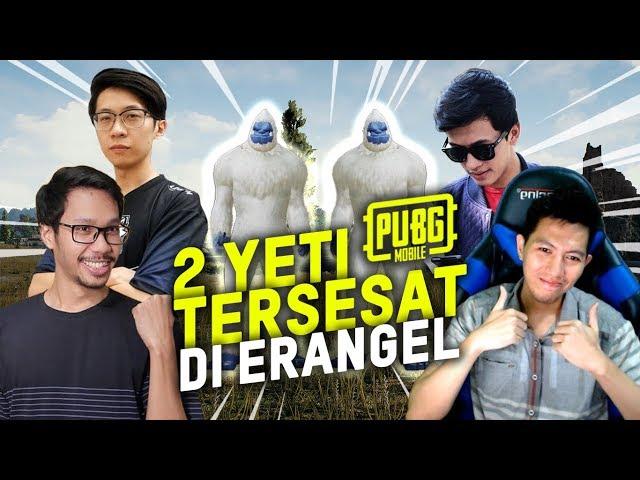 TERNYATA YETI TAKUT SAMA CACING? BANG ALEX,EJGAMING,BENO - PUBG MOBILE INDONESIA