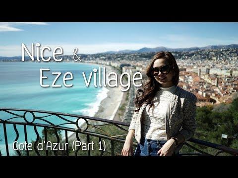 Travel vlog #6|Côte d'Azur Part1 - NICE & Eze Village