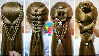 Прически Прически на длинные волосы Укладка волос Прически в школу