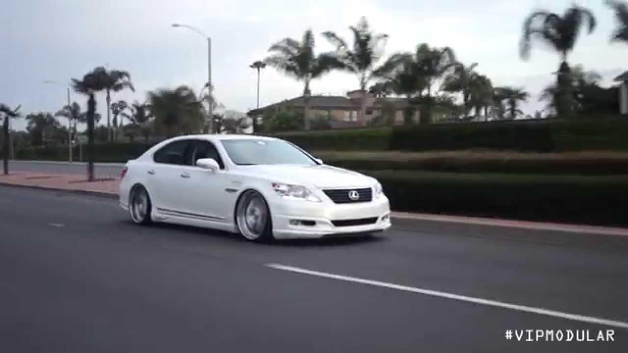 2010 Lexus Ls460 On 22 Quot Vr15 Vip Modular Wheels Youtube
