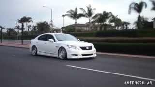 "2010 Lexus LS460 on 22"" VR15 | VIP Modular Wheels"