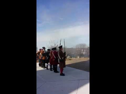 Evacuation Day 2014 - Salute at Fort Hill