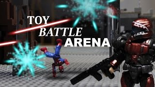 Toy Arena Battle Stopmotion