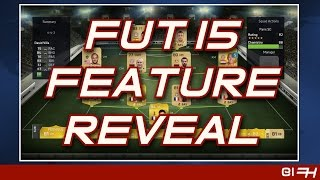 FIFA 15 FUT Features Detailed - FIFA News Roundup #8