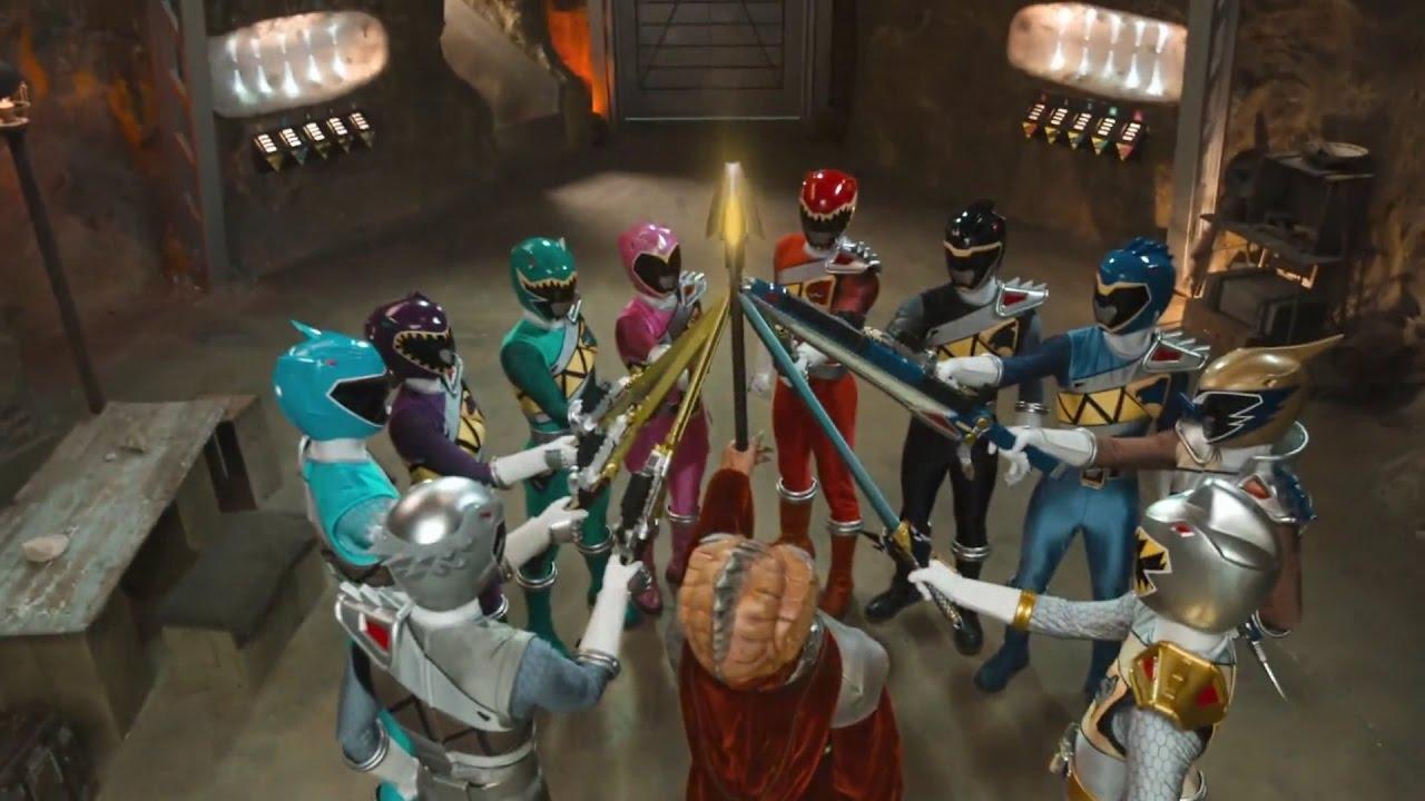 Power Rangers Dino Charge Staffel 2