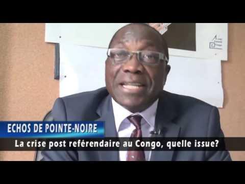 La crise post référendaire au Congo Brazzaville,