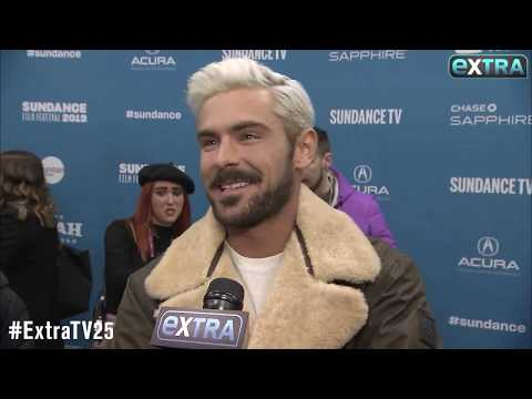 Katie Sommers Radio Network - Zak Efron Looking Like A SNACK At Sundance With Platinum Blond Hair