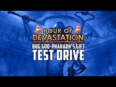Test Drive Sultai God-Pharaoh's Gift Hour of Devastation Standard Deck Tech | MTG