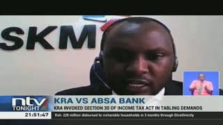 KRA demands payment of withholding tax from Absa
