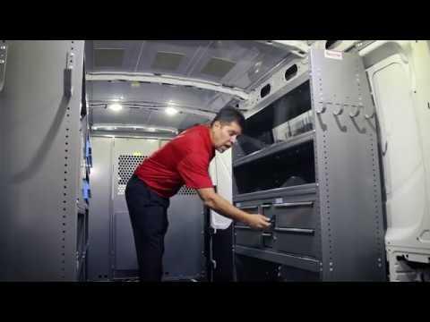 Adrian Steel General Service Van Interior Package