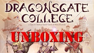 Unboxing: Dragonsgate College from NSKN Games