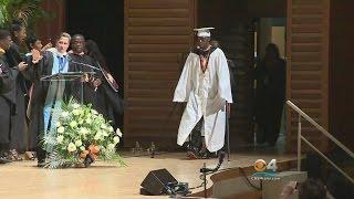 Teen Paralyzed In Shooting Surprises Classmates & Walks Graduation thumbnail