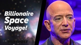 Jeff Bezos Blasts Off Into Space
