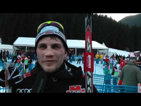 Interview mit Tom Reichelt nach der Tour de Ski