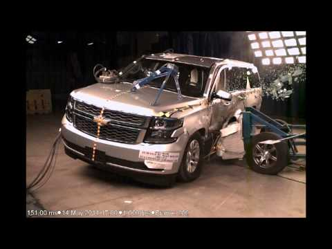 (v8750) 2015 Chevrolet Suburban & GMC Yukon XL NHTSA NCAP Side Impact (Moving Deformable Barrier)