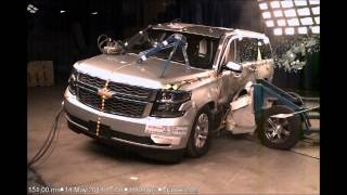 (v8750) 2015 Chevrolet Suburban & GMC Yukon XL NHTSA NCAP Side Impact (Moving Deformable Barrier)