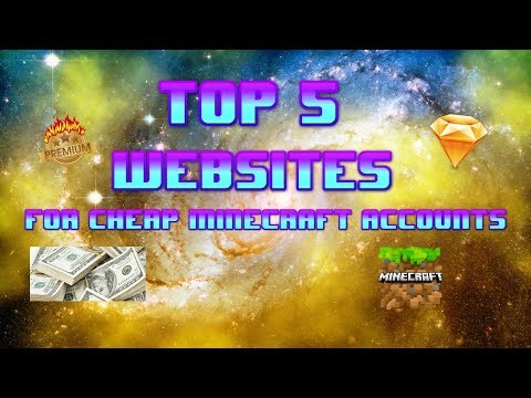 Top 5 Websites For Cheap Minecraft Accounts| Zapper