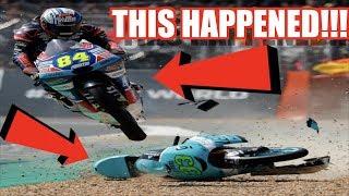 Horriffic Crash!!! - MotoGp 18 - Xbox One X Gameplay