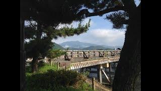 京都嵐山 朝の渡月橋 ☆ Kyoto Arashiyama Togetukyo