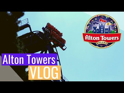 Alton Towers Vlog August 2017 4K