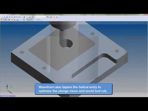 Waveform Machining with Surfcam