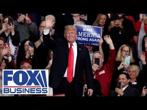 Trump speaks at a 'Make America Great Again' rally in North Carolina