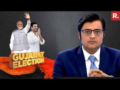 LIVE With Arnab: Counting Of Votes For Gujarat, Himachal Pradesh Elections BEGINS