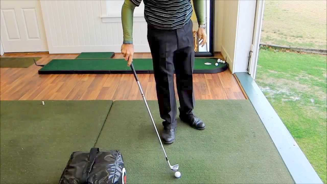 Better Ball Striking, Indoor Practice Tip