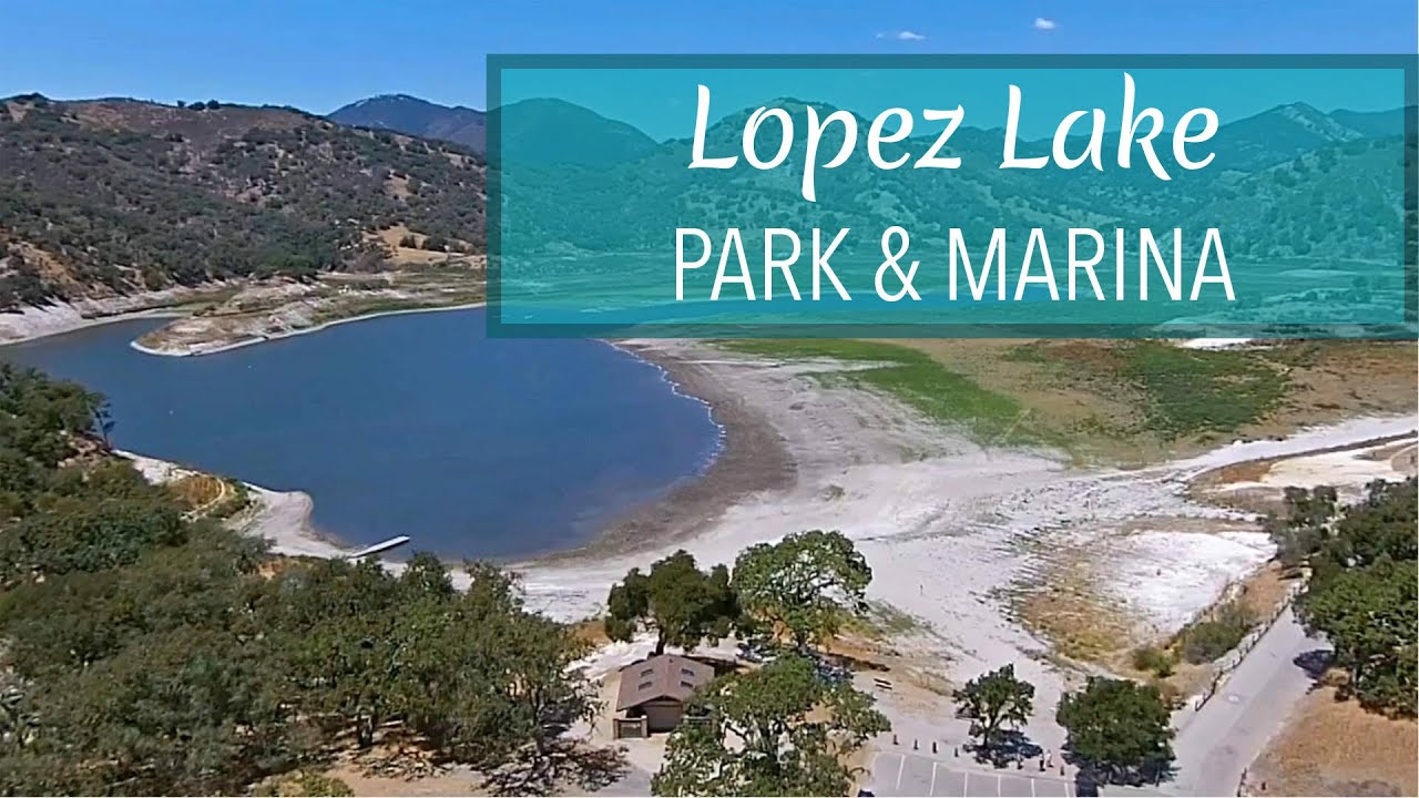 Lopez Lake Recreation Area From A Dji Phantom 2 Drone