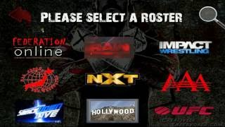 My Custom Wrestling Revolution Roster