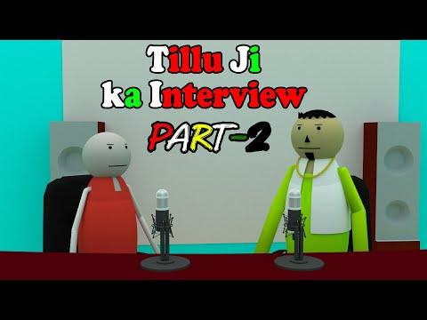 make joke of- Tillu ji ka interview (part-2)