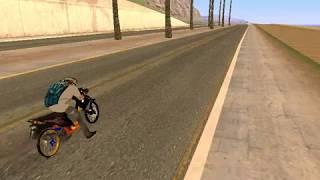 Setting Drag Honda Beat 200cc Gta san andreas