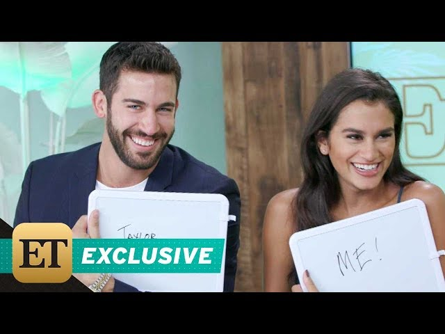 Bachelor in Paradise Stars Derek Peth and Taylor Nolan Get Quizzed on Their Future Together