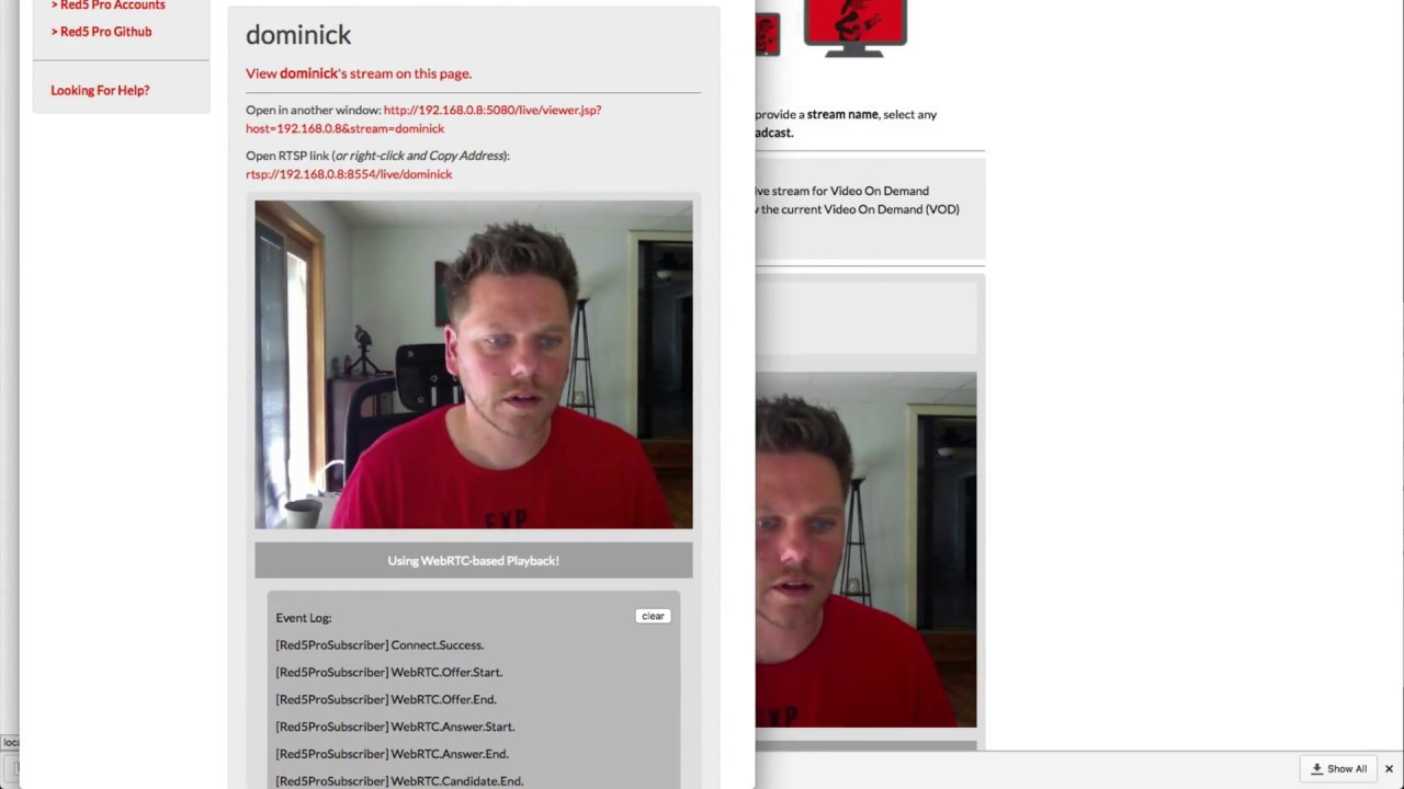 02 - Getting Started with WebRTC · Red5 Pro Documentation