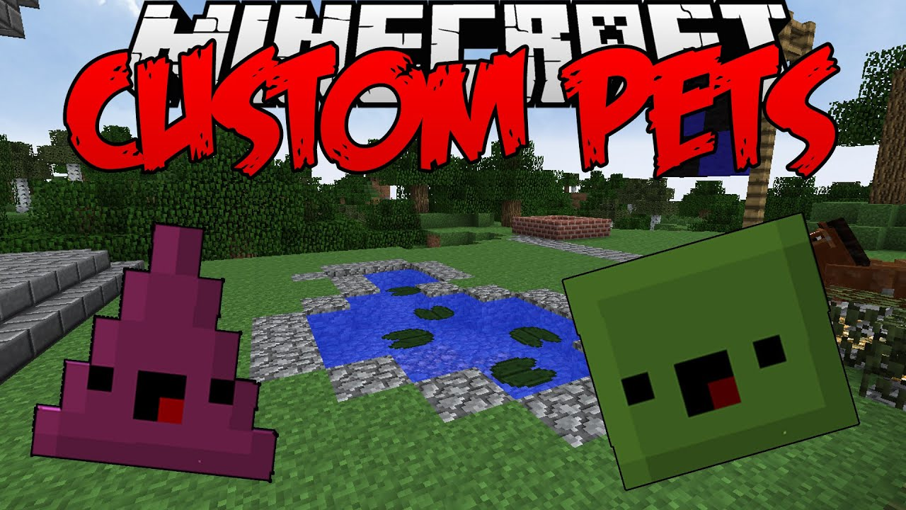 "Minecraft Mod | Custom Pets ""PETS WITH BENEFITS!"" 