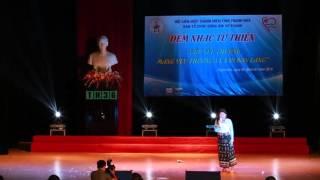"""Lê Thị Dần  tại đêm nhạc """"Góp yêu thương - Mang yêu thương về với bản làng"""""""