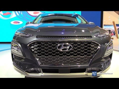 2018 Hyundai Kona Exterior and Interior Walkaround Debut at 2017 LA Auto Show