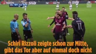 Bild   Bei Milan gegen Juve sorgten die ganz jungen