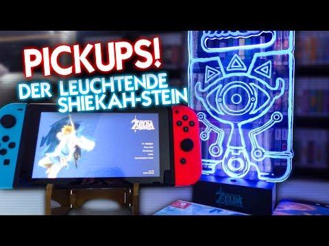 Commando PICKUPS #082 - Der leuchtende SHIEKAH-STEIN NES, Gameboy, PS4, Zelda, Switch