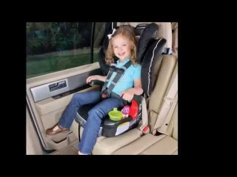 Frontier 90 Britax Booster Car Seat - YouTube