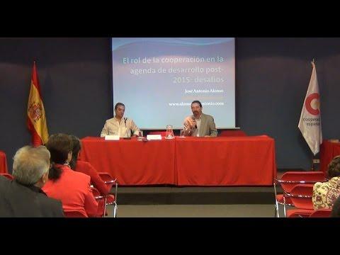 Conversatorio con Jose Antonio Alonso, Catedrático de la Universidad Complutense de Madrid.