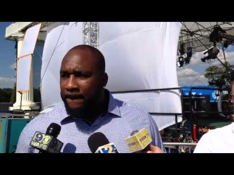 Former LSU D-lineman Marcus Spears, former Alabama QB Greg McElroy discuss playing in heat